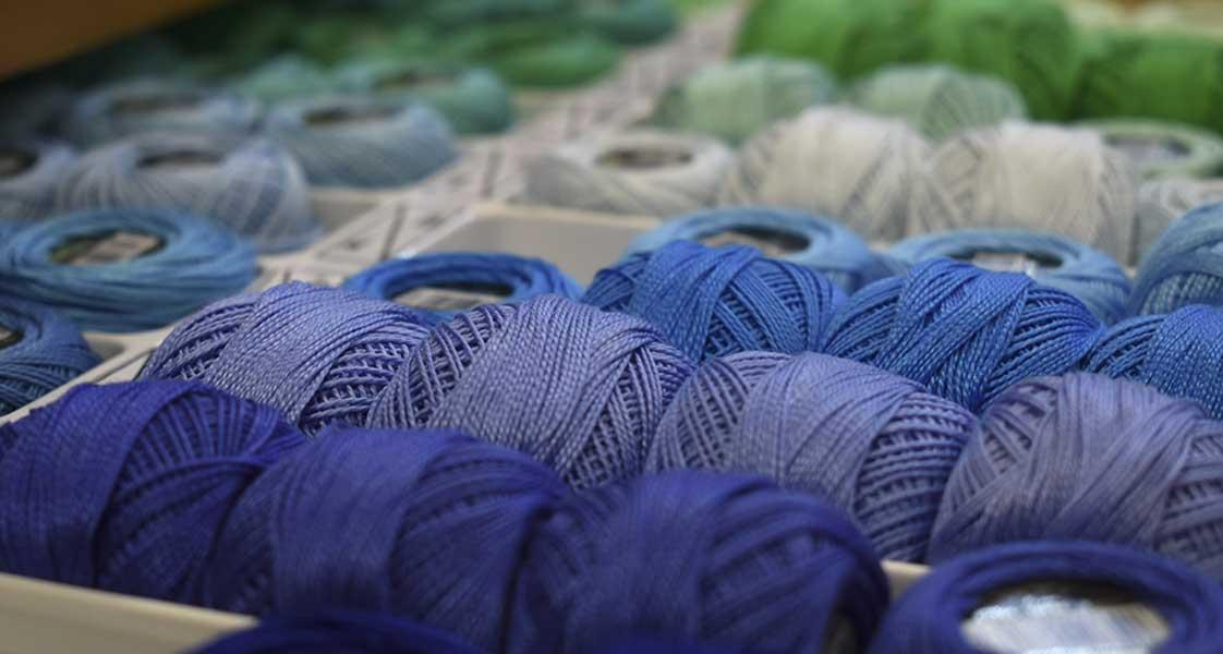 fili colorati uncinetto merceria selvazzano padova